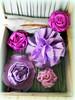 fabric flowers (AllThingsPretty...) Tags: ribbonflowers ribbonroses fabricroses