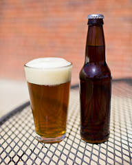 Homebrew (Chase Hoffman) Tags: color beer glass canon eos spring bottle colorado dof bokeh ale denver depthoffield alcohol homebrew brew homebrewing shallowdepthoffield shallowdof canonef35mmf14lusm chasehoffman canoneos5dmarkii 5dmarkii 5dmkii chasehoffmanphotography