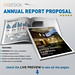annual report proposal