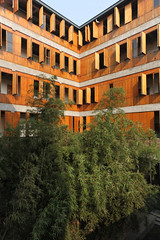 hangzhou - xiangshan phase one 24 (Doctor Casino) Tags: school trees college architecture campus wooden courtyard architect shutters hangzhou xiangshan 20022004 artacademy phaseone i wangshu amateurarchitecture luwenyu