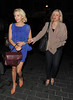 Lydia Rose-Bright on a night out with friends. London, England