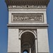Arc de Triomphe - side