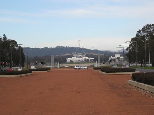 Old and New Parliament Houses at Canberra