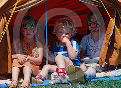 Hippie Children Glastonbury Festival UK (Roger Cracknell Photography) Tags: uk travel family camping party summer camp vacation people music colour heritage tourism festival hippies festive fun tents traditional joy culture glastonbury tent celebration destination hippie recreation atmospheric travelers touristattraction cultural musicfestival attraction