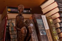 The reader (glukorizon) Tags: wood sculpture brown art closet reading book boek reader cabinet kunst livingroom thuis cupboard hout beeld kast woonkamer bruin boekenkast odc lezen boekenrek plastiek lezer odc2 ourdailychallenge