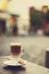 Cappuccino (nina's clicks) Tags: cup glass coffee cookies corner cafe explore esquina cappuccino 190 9mar2012 ninasclickstumblrcom
