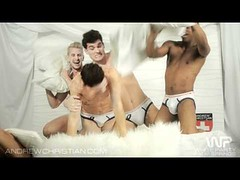 5 Guys, 1 Pillow (Andrew Christian Underwear Pillow Fight) (gaywesthollywood) Tags: show gay party white black west boys jessie goofy fashion sex fetish hair toy penis los fight pretty dancing underwear angeles muscle sleep slumber wrestling over feathers bank andrew off twink palm christian sweaty pillow booty springs hollywood porn latin blonde shake horny tickle masturbation pulling runway stud legal barely spank twinks bubblebutt slapping jerking