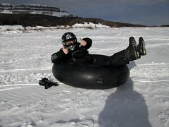 Winter activities at Brooks Lake (Brooks Lake Lodge) Tags: tubing wintersports wintergetaway brookslakelodgeandspa