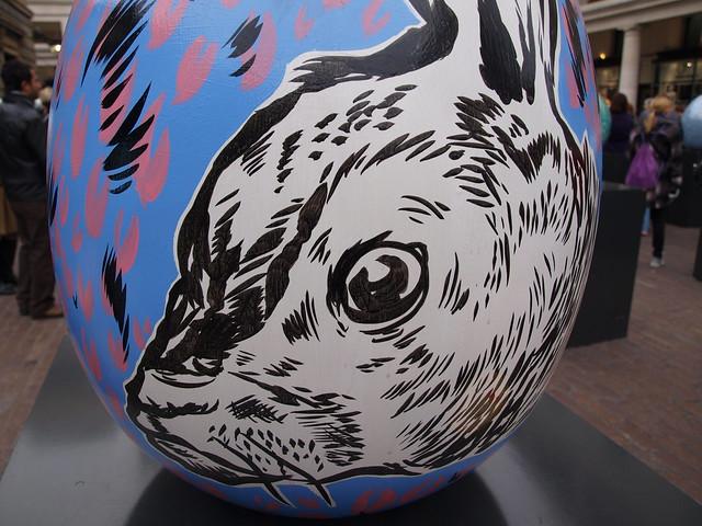 Big Egg Hunt Egg, Covent Garden © ROH 2012