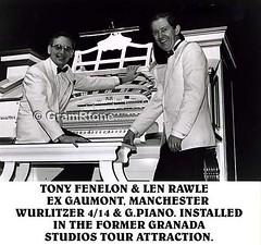 Tony Fenelon & Len Rawle (gramrfone) Tags: cinema theatre organists