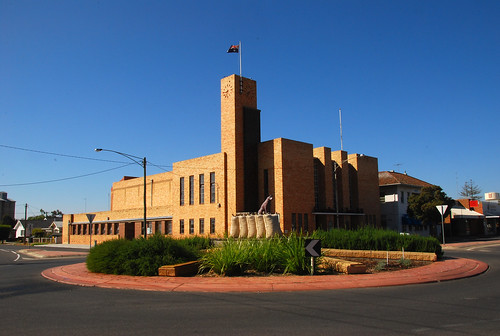 Warracknabeal Town Hall by bobarcpics, on Flickr