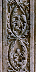 Perugia, Umbria, Collegio del Cambio, doorway, detail (groenling) Tags: door italy stone italia stonecarving it carving cambio porta fiddle viola perugia umbria shawm collegiodelcambio mmiia doubleshawm