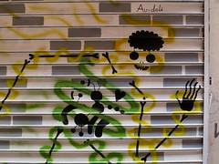 Au-del (detail) (Koleoptere) Tags: streetart paris rip lord du turbo passage marche hao 75010 koleo lordhao tvrbo koleoptere teratology teratologie mmxiv