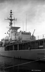 F 581 Carabiniere Trieste 1969-08 - (Paolo Bonassin) Tags: 1969 marinamilitare frigate trieste warships f581carabiniere