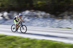 Triathlon Byclist (Elfworld) Tags: sports bike speed action biking bicyclist athlete triathlon molde