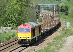 60044 Frickley Cutting, Moorthorpe (DieselDude321) Tags: dock clayton db class ues cutting 60 dbs export tees berth bsc 0527 shenker 60044 frickley moorthorpe aldwarke 6j71