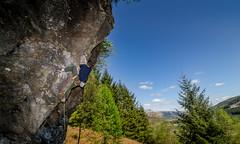 DSC_6246-2 (Fras333) Tags: rock climb countryside perthshire climbing rockclimbing strathyre schist sportclimb