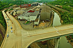 A View From The Westinghouse Bridge (billrock54) Tags: travel bridge urban reflection artwork industrial pittsburgh cityscape quality surreal kennywood westinghouse pittsburghpa eastpittsburgh georgewestinghouse visitpittsburgh edgarthomsonsteelworks photosbybillrockwell