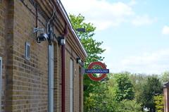 Pinner Station (Squirmelia) Tags: london station sign underground pinner tubewalk