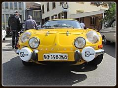 Alpine Renault A 110, 1300G (v8dub) Tags: auto old classic car french schweiz switzerland automobile suisse g 110 automotive voiture renault alpine oldtimer oldcar collector 1300 wagen pkw klassik gordini chavornay a worldcars