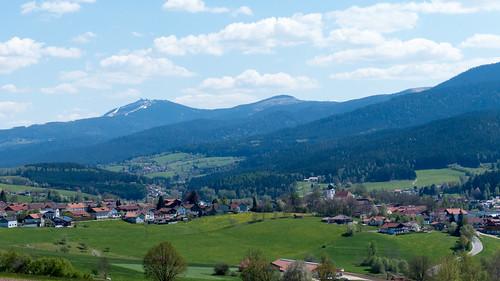 Blick über Lam - Bayerischer Wald - Bavaria - Germany - 160507