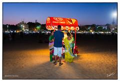 Kwality Walla (msankar4) Tags: summer india beach marina corn indianocean boardwalk bluehour marinabeach chennai streetfood tamil tamilnadu vendors roster cornroster