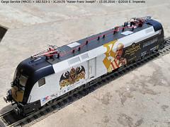 Cargo Service (MRCE) 182.523-1 (Ernesto Imperato) Tags: taurus 182 modellbahn mrce fermodellismo cargoservice jagerndorfer 1825231