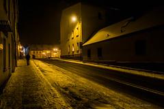 Pyskowice (nightmareck) Tags: winter night europa europe fuji poland polska handheld fujifilm zima fujinon silesia pancakelens pyskowice xe1 apsc mirrorless lskie grnylsk xtrans fotografianocna xmount xf18mm xf18mmf20r bezlusterkowiec