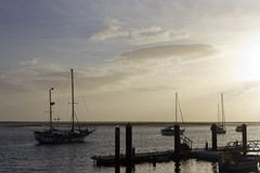 Navegar na Ria. (Hlder Cotrim) Tags: portugal gua canon faro algarve riaformosa locais olho a