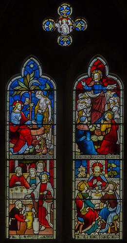Nocton, All Saints' church window