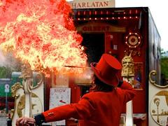 fire eater (Arnolt S.) Tags: red people lumix fire panasonic funfair kirmes fireeater jahrmarkt mft feuerschlucker microfourthirds lumixgf7 panasoniclumixg42517