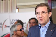 Pedro Passos Coelho em Mirandela