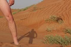 Shadow (CharlesFred) Tags: sand desert dune uae alain sanddune
