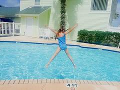 Leap (therealjoeo) Tags: summer vacation beach texas corpuschristi shore padreisland