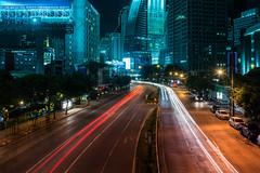 Not Quite Gotham.. (TheLazyPhotographer/) Tags: longexposure nightphotography urban thailand lowlight cityscape darkness bangkok nikkor nikond7100