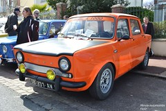 Simca 1000 Rallye (Monde-Auto) Tags: auto orange france courtenay 1000 berline simca rassemblement automoto