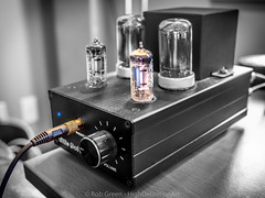 Tube-Amp-BW-Color-5-27-16 (Rob Green - SmokingPit.com) Tags: blue 2 music white black color art home cord gold washington artwork warm theater little tube tubes amp olympus dot entertainment stereo ii electronics sound wa tacoma component amplifier boke audio gadgets headphone omd volume audiophile robgreen em10