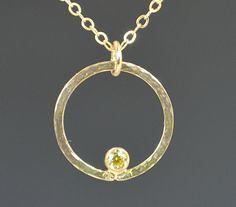 Solid 14k Gold Topaz (alaridesign) Tags: november by mom gold necklace mothers 14k solid topaz birthstone alaridesign