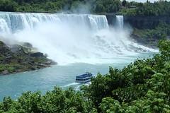 Niagara falls (elsagrts) Tags: city travel summer usa toronto ontario canada france hot water girl french niagarafalls boat cool holidays niagara falls journey