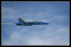 Fly By.. (DTT67) Tags: blue canon jets navy maryland airshow angels planes annapolis blueangels navalacademy 100400mkii 1dxmkii