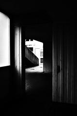 (formwandlah) Tags: life street city urban bw white abstract black art strange contrast dark lost death graffiti blackwhite high poetry noir gloomy place pentax dream architektur imagination sw gr monochrom atrium sureal ricoh kaiserslautern abstrakt thorsten prinz gasse melancholic betzenberg bizarr skurril einfarbig melancholisch formwandlah