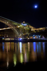 Pont Dom-Lus Porto (J N Photography) Tags: bridge color portugal water night river photography colorful eau rivire reflet porto nd pont colored alpha 77 reflextion doro portogallo filtre duero nuyten photographysony domlus poselonguelong pontdomlus exposurejeremy