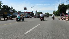 Police chasing Shriners (Hear and Their) Tags: ontario festival strawberry shrine police parade motorcycle lasalle shriners 2016