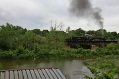 The Varsity (Nick Brown 261) Tags: bridge wisconsin train ns steam photograph railraod nkp railfanning