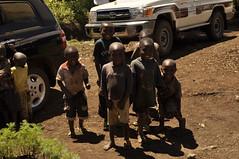 Happy children in CCPC in Katana, Bukavu (IITA Image Library) Tags: children cassava bukavu dsc0528 manihotesculenta cassavaprocessingcenter