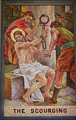 Mosaic (D. Brigham) Tags: catholic madonna catholicism jesuschrist eastboston scourging queenoftheuniverseshrine