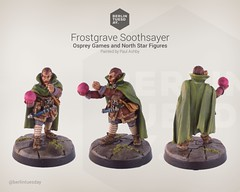 Soothsayer / Frostgrave / NorthStar (berlintuesday) Tags: painting miniatures painted fantasy tabletop minis wargames northstar wargaming warmongers soothsayer frostgrave sigilist musyical apprenticemodels