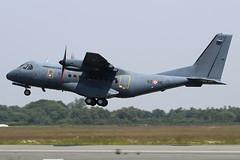 CASA CN-235 Arme de l'Air 195 / 62-HC (herpeux_nicolas) Tags: casa cn235 armedelair frenchairforce msn195 cn195 62hc airtech tetuko takeoff dcollage dnr lfrd dinardpleurtuit military militaire