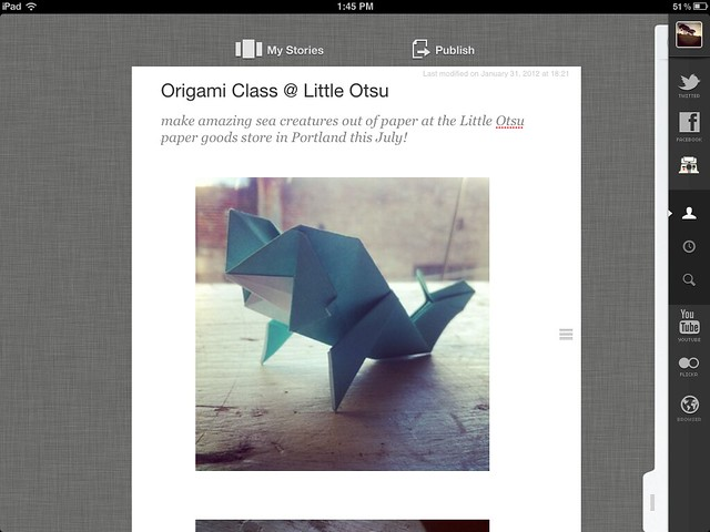 Thumbnail for Storify for iPad (updated)