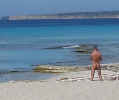 Bum on a beach - Formentera (Kernek) Tags: spain beaches bums naturist med formentera balaerics